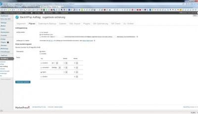 WordPress Datensicherung Plugin BackWPup