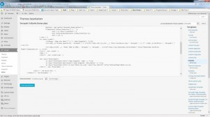 WordPress Theme Dorayaki Smooth Scrolling