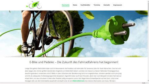 E-Bike, Pedelec und S-Pedelecs Infoseite
